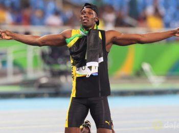 Usain Bolt hails 'brilliant feeling'