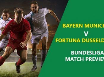 Bayern Munich vs Fortuna Dusseldorf: Bundesliga Game Preview