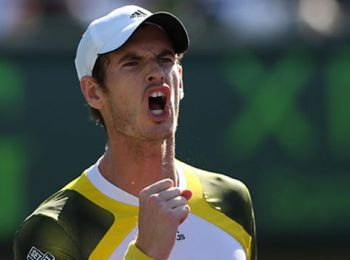 Andy Murray considers himself to be lucky to be born in the same era with legends Djokovic, Nadal and Federer