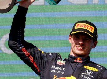 Verstappen Extends Lead On Drivers' Standings After Winning US GP